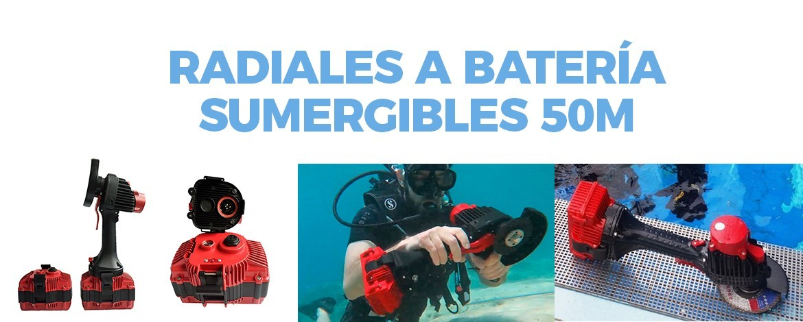 Radiales sumergibles 50m