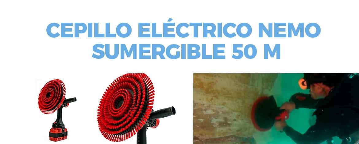 CEPILLO ELECTRICO - HULL CLEANER